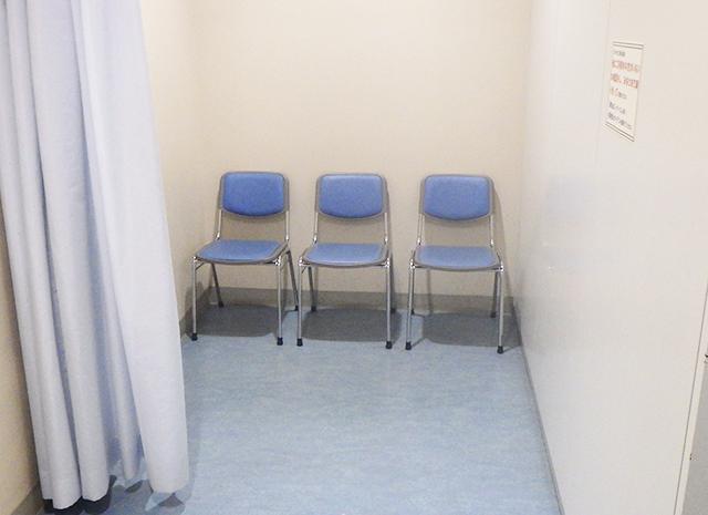 車椅子更衣スペース